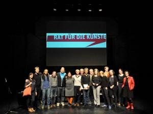 Ergebnis der Wahl des Rates für die Künste vom 04.04.2016